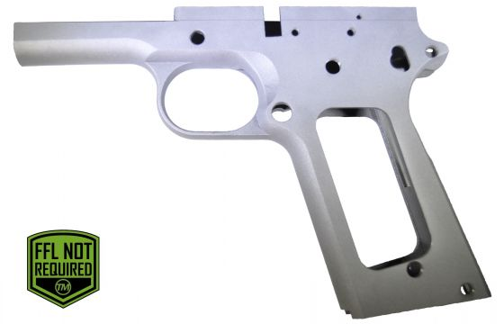 80% 45 ACP FULL SIZE GOVERNMENT FRAME IN SERIES 70 FORGED 4140 STEEL ...