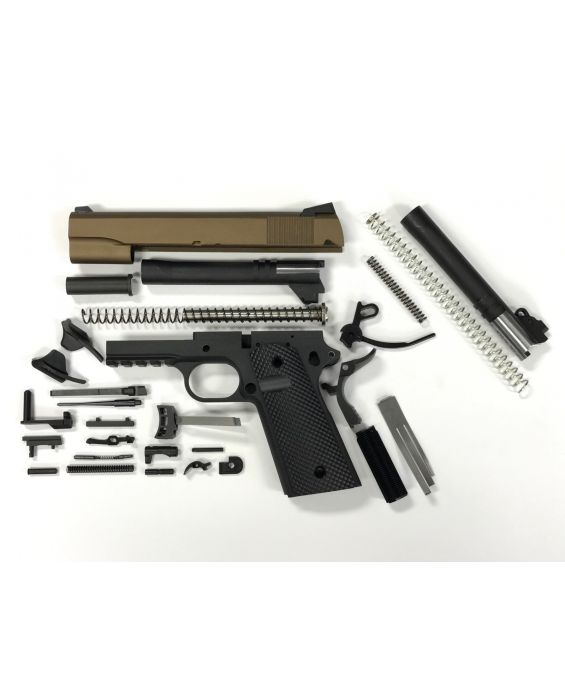 HUGE SALE! 1911 CAL 40 S&W & 10mm TACTICAL 80% BUILDERS KIT BURNT BRONZE & BLACK