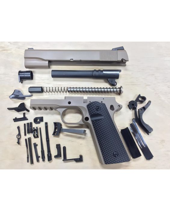 HUGE SALE! 1911 CAL 45 TACTICAL 80% BUILDERS KIT FDE