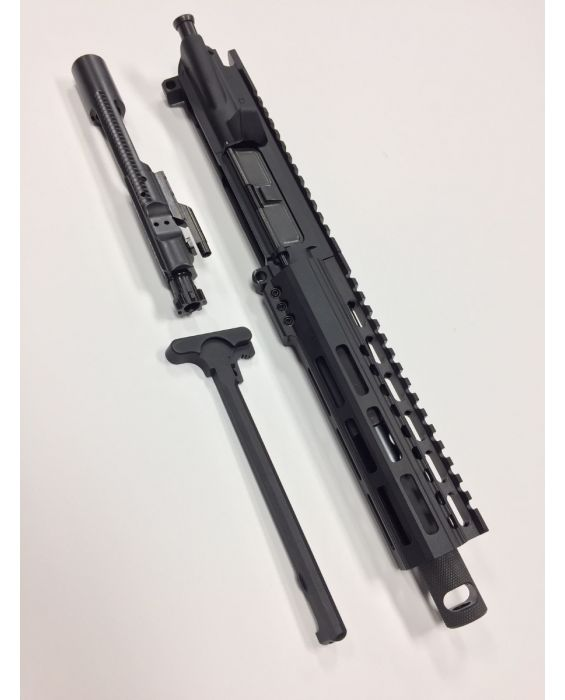 "AR-15 7.5"" 300 AAC BLACK-OUT PISTOL UPPER WITH 7"" M-LOCK RAIL"