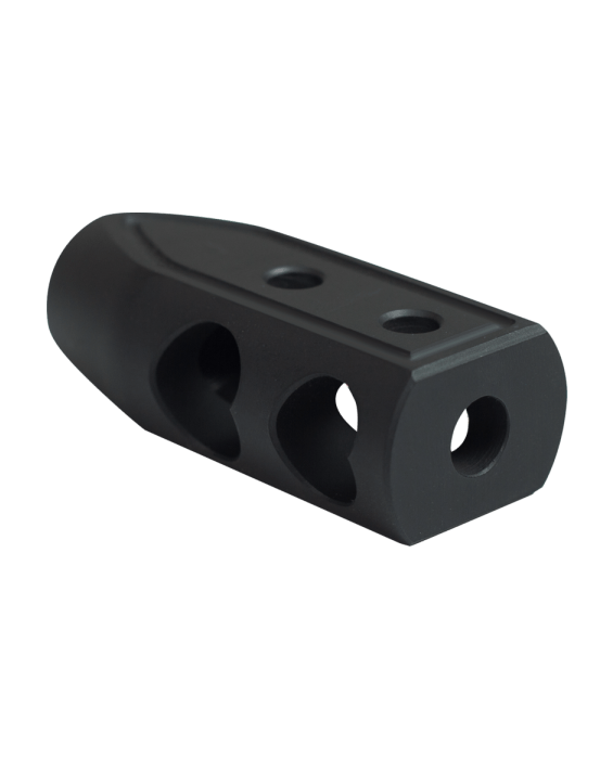 .308 HEART BREAKER MUZZLE BRAKE COLOR BLACK CERAKOTE