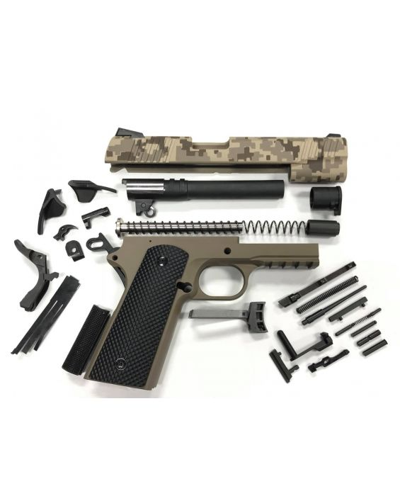 1911 TACTICAL 80% .45 ACP BUILDERS KIT MARINE CORPS DIGITAL CAMO