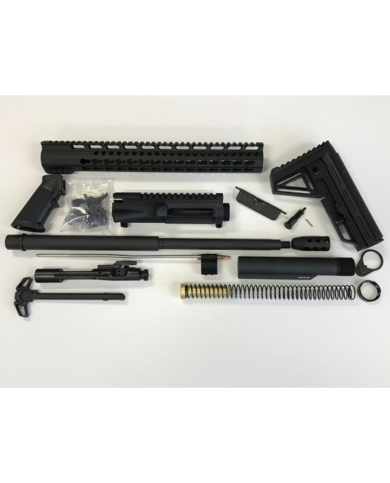 "AR-15 18"" 15"" KEYMOD RAIL COMPLETE RIFLE BUILD KIT"
