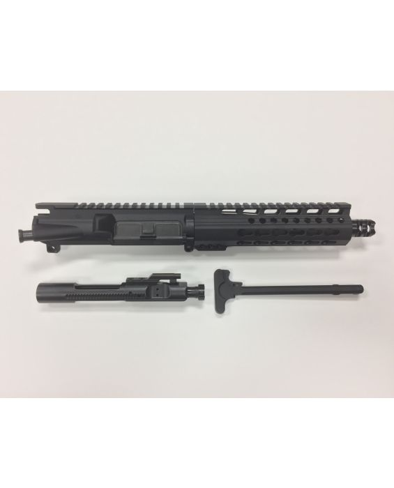 "AR-15 7.5"" .223 / 5.56 PISTOL UPPER WITH 7"" KEYMOD RAIL"
