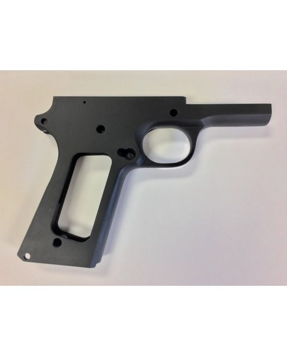 80% 45 ACP Full Size Government Frame in series 70 Forged 4140 Steel Black