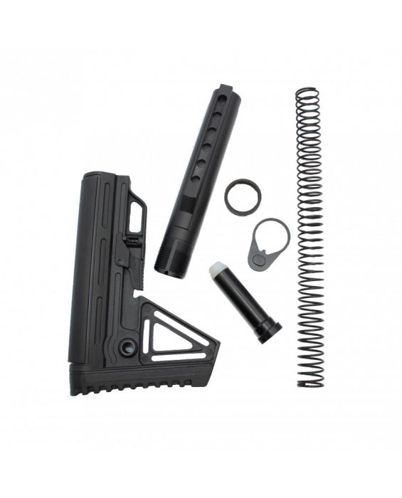 Alpha Combat Mil-Spec Carbine AR-15 Complete Stock Kit