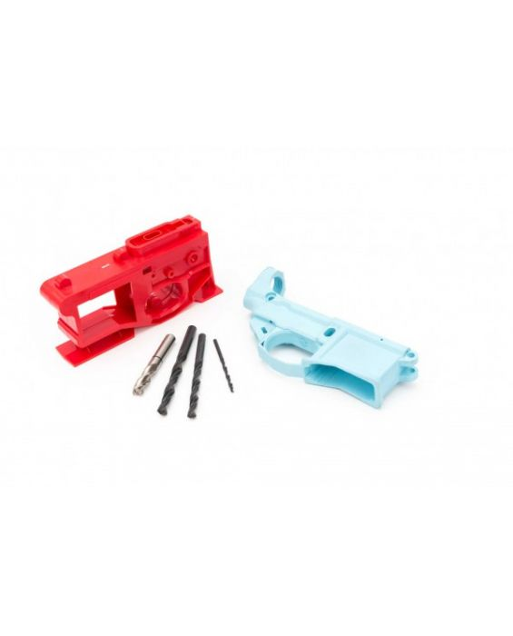 Polymer80 G150 80% Lower with Jig System - Light Blue