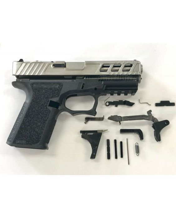 HIGH END GLOCK 17 KIT WITH TIN TITANIUM NITRIDE POLISHED SLIDE