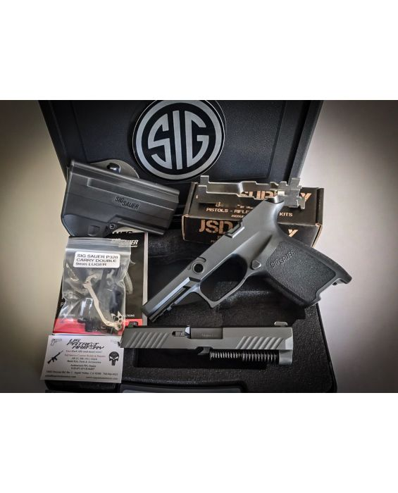 80% Sig Sauer P320 X-Series 9mm Builders Kit      Free Shipping