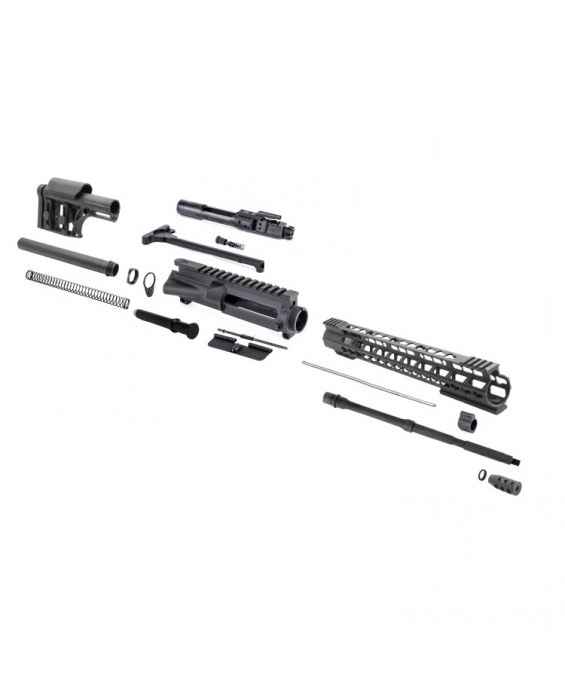"LUTH-AR-15 FULLY ADJUSTABLE RIFLE BUTTSTOCK 5.56 16"" RIFLE KIT"