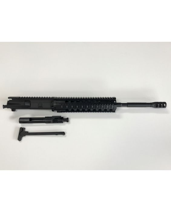 "AR-15 10"" QUAD RAIL UPPER WITH BCG & CHARGING HANDLE"