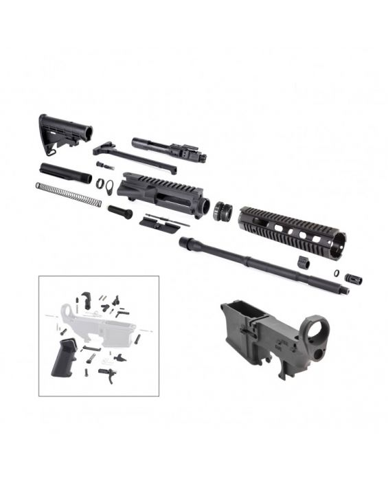 AR-15 QUADRAIL COMPLETE BUILD KIT COMES WITH EVERYTHING