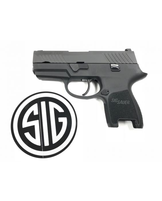 "Sig Sauer 80% P320 Subcompact Double 9mm Luger 3.6"" Builders Kit   1 Mag"