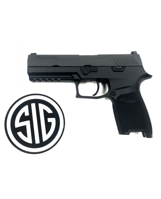 "80% SIG SAUER P320 Full Size Double 9mm Luger 4.7"" 9MM BUILDERS KIT 1 Mag"