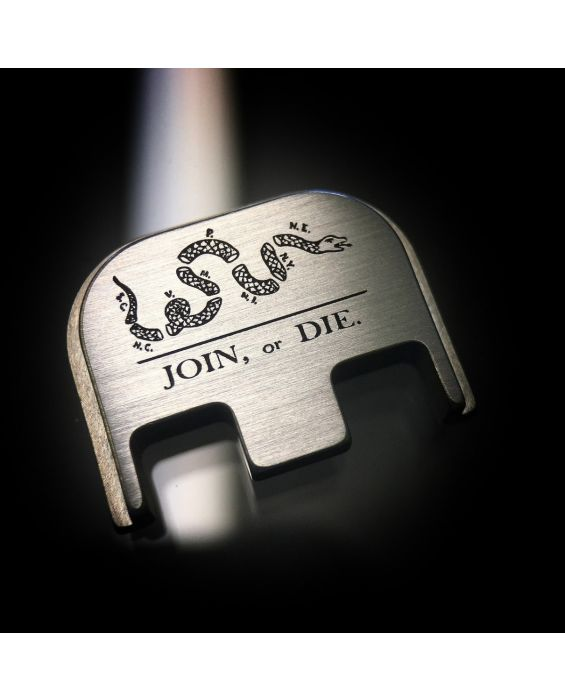 Titanium Join or Die Back Plate