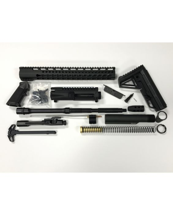 "SALE  AR-15 16"" 15"" KEYMOD RAIL COMPLETE RIFLE BUILD KIT"