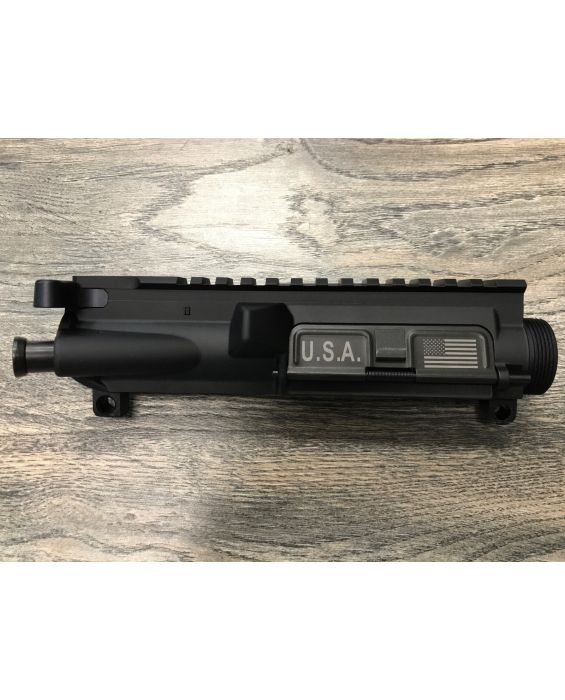 U.S. PATRIOT ARMORY III% AR-15 Assembled Upper Receiver comes with the port door and forward assist already installed & Charging Handle